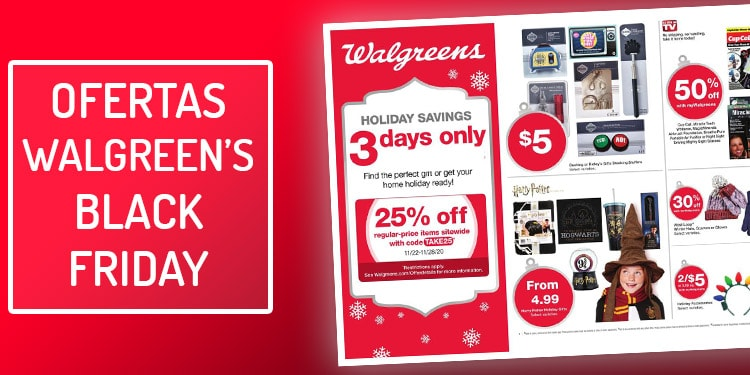 ofertas walgreens black friday viernes negro
