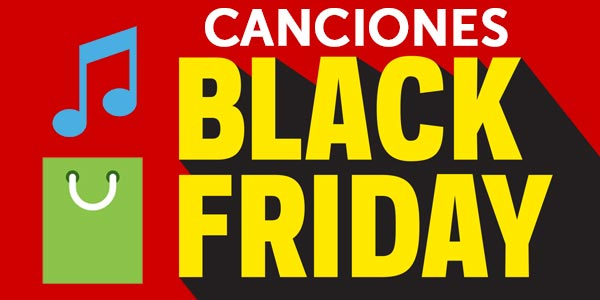canciones black friday música para comprar