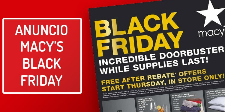 folleto macys black friday