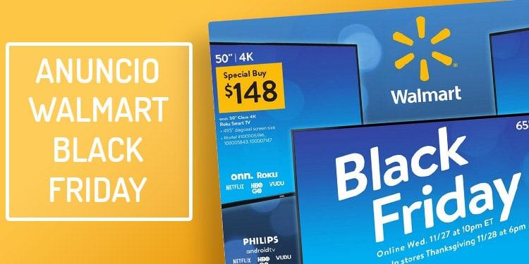 folleto walmart black friday viernes negro ofertas
