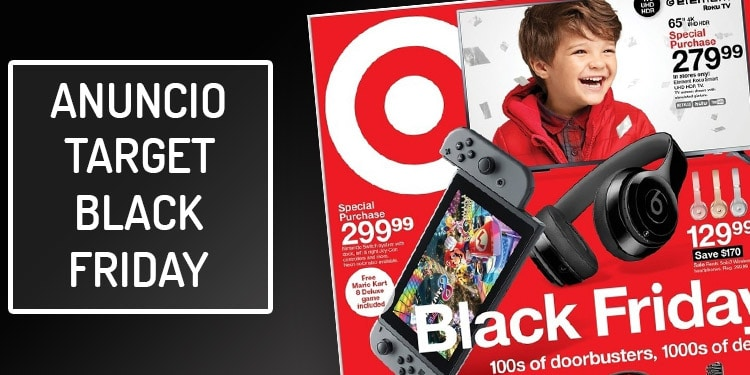 target folleto black friday ofertas