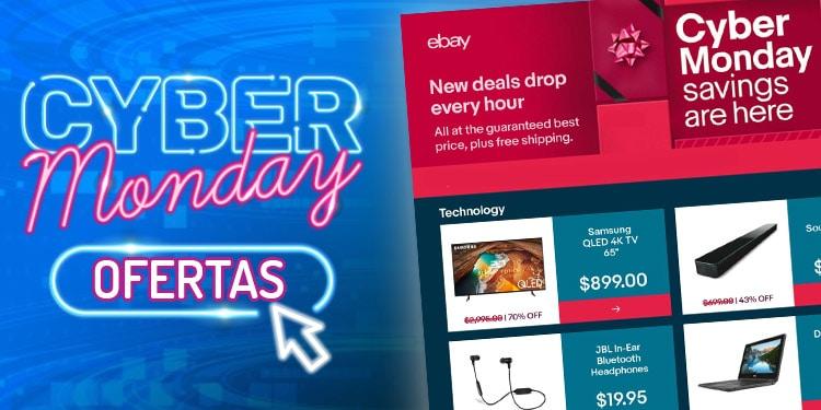 ebay ofertas cyber monday lunes