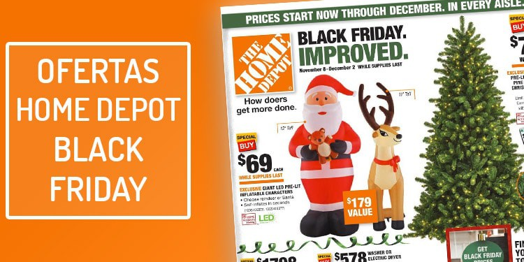 ofertas home depot black friday viernes negro