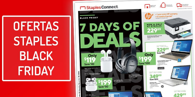 ofertas staples black friday viernes negro