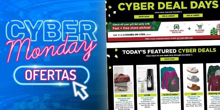 kohls cyber monday ofertas